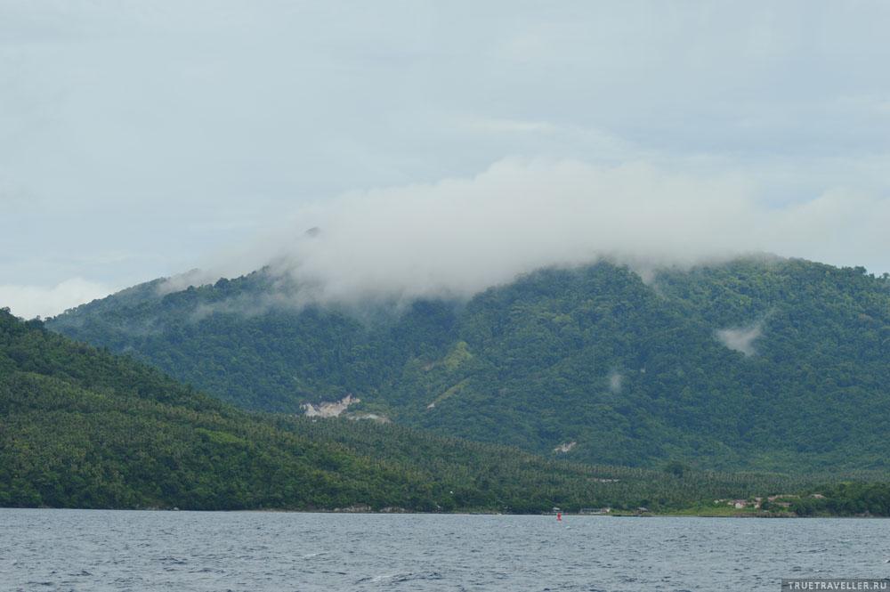 Остров Вех утром после дождя.