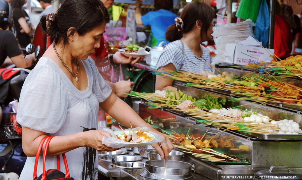 Пенанг, еда малайзии