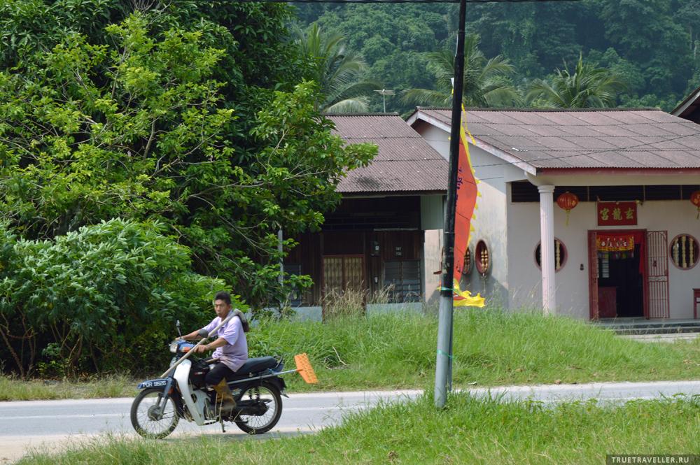 В деревне Gertak Sanggul, Пенанг, Малайзия.