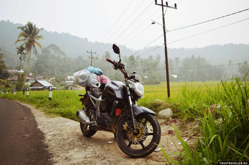 мотопутешествия по индонезии