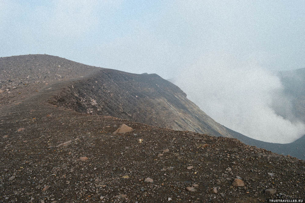 вулкан марапи на суматре