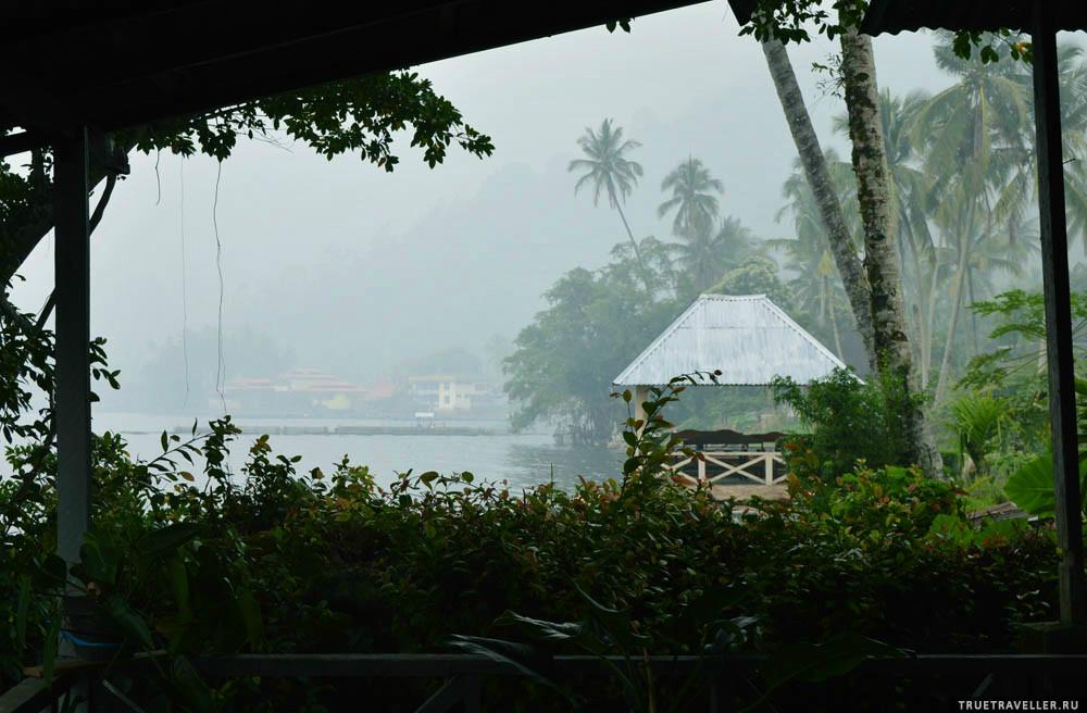 озеро манинджау кальдера суматра индонезия