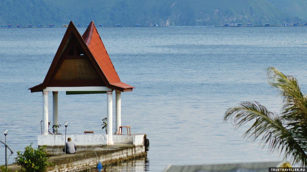 Озеро Тоба на Суматре.