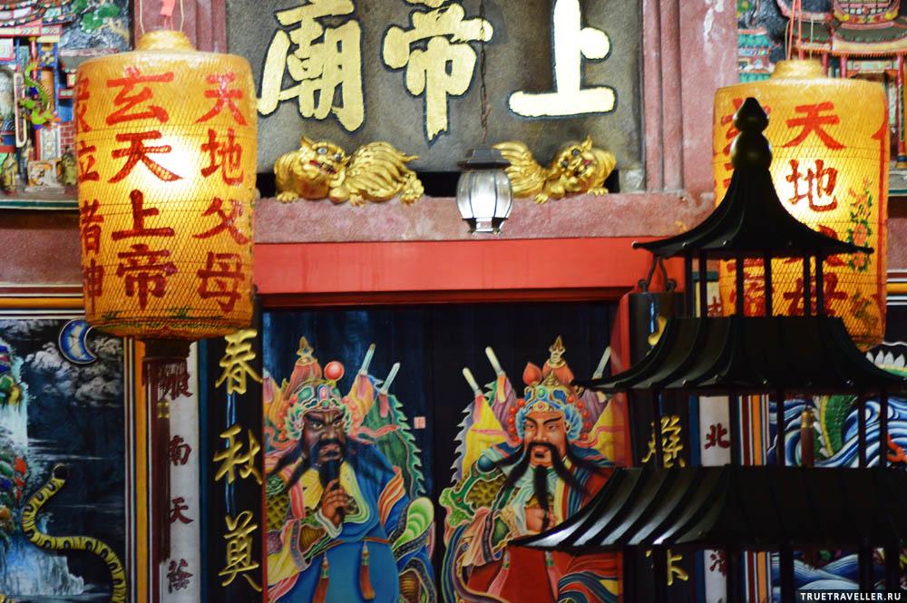 Китайская культура в Малайзии повсеместно.